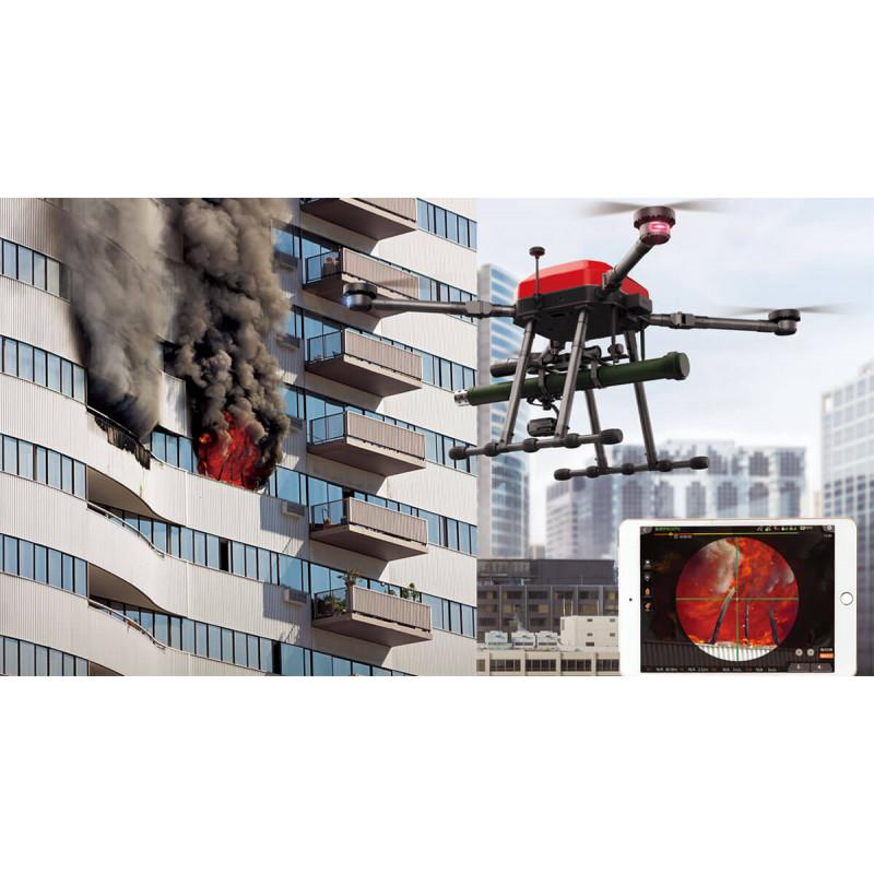 WALKERA ZHUN Первый в мире пожарный дрон